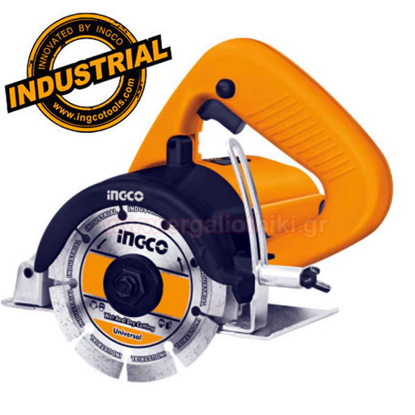 INGCO MC14008 Κόφτης μαρμάρου υγρής - ξηράς κοπής 1400W