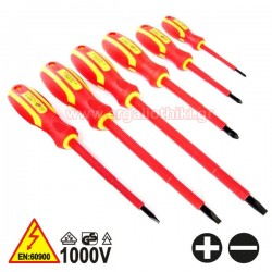 PASCO TOOLS 022506  Σειρά κατσαβίδια ηλεκτρολόγων με μόνωση 1000V