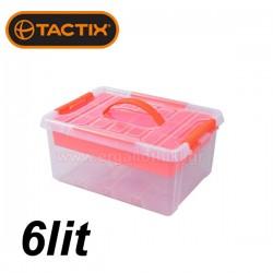 TACTIX 320262 Κουτί αποθήκευσης 6lit