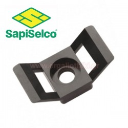SAPISELCO SUP.3.401 Βάση δεματικών μαύρη 100τμχ