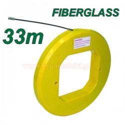 Ατσαλίνα ηλεκτρολόγων FIBERGLASS 33mm Φ 3,8mm