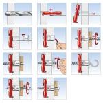 FISCHER DUOTEC 10 (537258) Βύσμα γυψοσανίδας