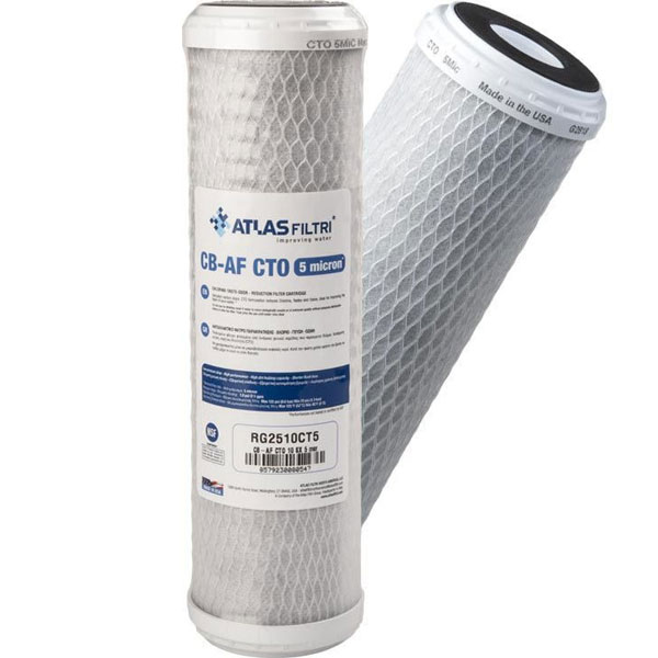 ATLAS CB-AF CTO SX 5μm Ανταλλακτικό φίλτρο νερού συμπαγούς  ενεργού άνθρακα (320815)