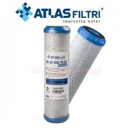 ATLAS CB-AF VOC PLUS SX 0.5μm Ανταλλακτικό φίλτρο νερού συμπαγούς ενεργού άνθρακα