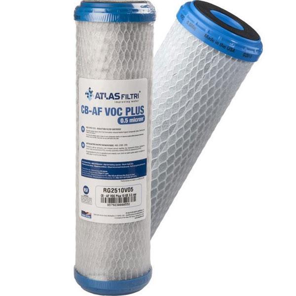 ATLAS CB-AF VOC PLUS SX 0.5μm Ανταλλακτικό φίλτρο νερού συμπαγούς ενεργού άνθρακα (320825)