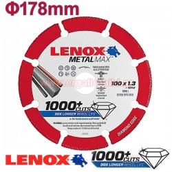 LENOX METALMAX 178-1.5mm Μεταλλικός δίσκος κοπής μετάλλων