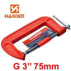 "HARDEN 600201 Σφυκτήρες τύπου G 3"" (75mm)"