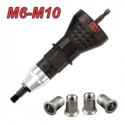 M7 PB-9010 Πριτσιναδόρος δράπανου για πριτσινοπαξιμάδια M6-M10