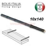 BOLIS 10 X 140 Βύσμα χωνευτό αόρατης στήριξης ραφιού