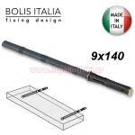 BOLIS 9 X 140 Βύσμα χωνευτό αόρατης στήριξης ραφιού