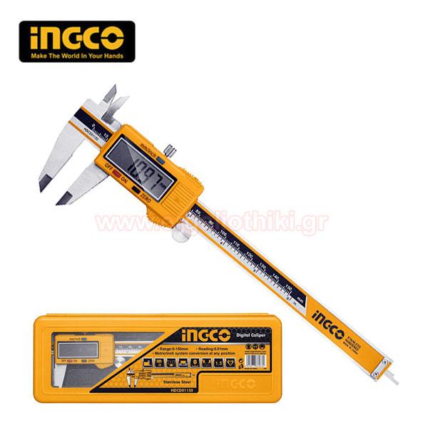 INGCO HDCD01150 Παχύμετρο ψηφιακό 150mm