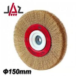 JAZ CT1507E99 Συρματόβουρτσα δίδυμου τροχού ίσια Ø150mm
