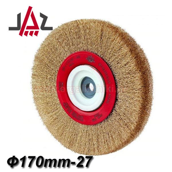 JAZ CT1707E99 Συρματόβουρτσα δίδυμου τροχού ίσια Ø175mm-27