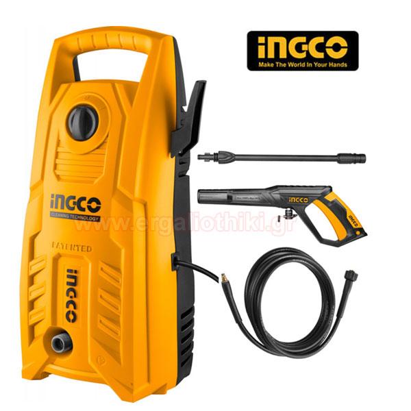 INGCO HPWR14008 Πλυστικό μηχάνημα υψηλής πίεσης