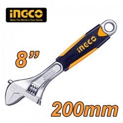 "INGCO HADW131088 Γαλλικό κλειδί 8"" 200mm"