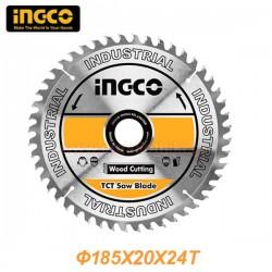 INGCO TSB118511 Δίσκος κοπής ξύλου Φ185x20x24T