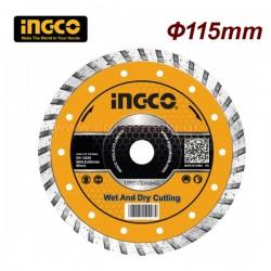 INGCO DMD031151HT Διαμαντόδισκος Φ115 X 0.8mm