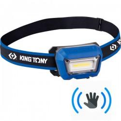 KING TONY 9TA52A Φακός κεφαλής αισθητήρα ανίχνευσης κίνησης 280 lumes