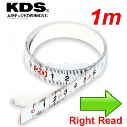 KDS ST13-01EU BP Μεζούρα αυτοκόλλητη 1m