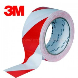 3M 767i Scotch Αυτοκόλλητη ταινία βινιλίου  50mmx33m άσπρη-κόκκινη