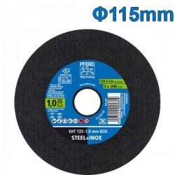 PFERD EHT 115-1.0 BOX Δίσκος κοπής 115mm