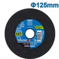PFERD EHT 125-1.0 BOX Δίσκος κοπής 125mm