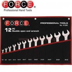 FORCE TOOLS 5128C Σειρά γερμανικά κλειδιά 6-32mm