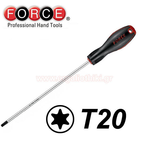 FORCE TOOLS 71630020 Κατσαβίδι Torx μακρύ T20