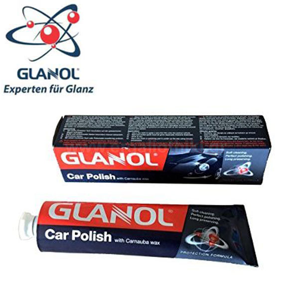 GLANOL CAR POLISH 93001 Αλοιφή χρωμάτων (με κερί)