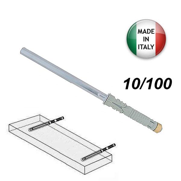 FRIULSIDER MDE 10/100 Βύσμα χωνευτό αόρατης στήριξης ραφιού