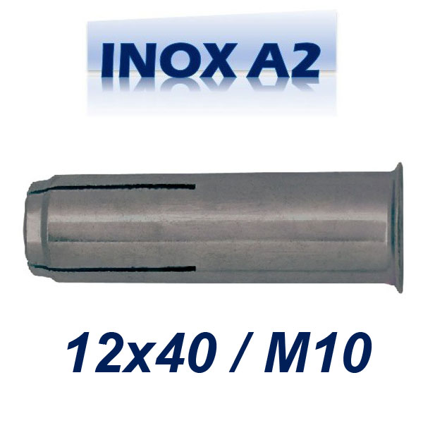 FRIULSIDER TAP 12x40/M10 Βύσμα ντίζας ανοξείδωτο A2
