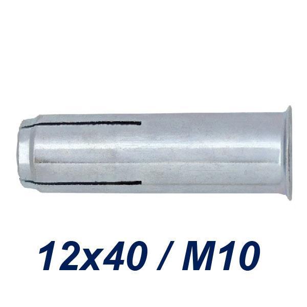 FRIULSIDER TAP 12x40/M10 Βύσμα ντίζας γαλβανιζέ