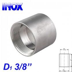 "INOX 304 Μούφα 3/8"""