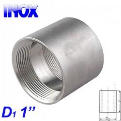 "INOX 304 Μούφα 1"""