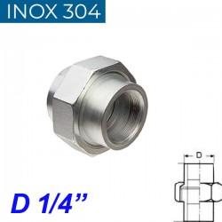 """INOX 304 Ρακόρ 1/4"""""""