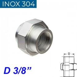 """INOX 304 Ρακόρ 3/8"""""""