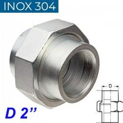 """INOX 304 Ρακόρ 2"""""""