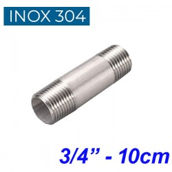 "INOX 304 Σωληνομαστός 3/4"" -10cm"