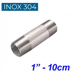 "INOX 304 Σωληνομαστός 1"" - 10cm"