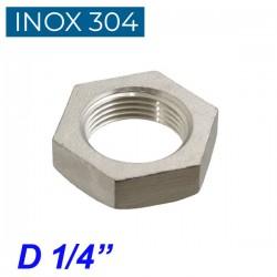 "INOX 304 Παξιμάδι 1/4"""