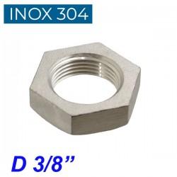 "INOX 304 Παξιμάδι 3/8"""
