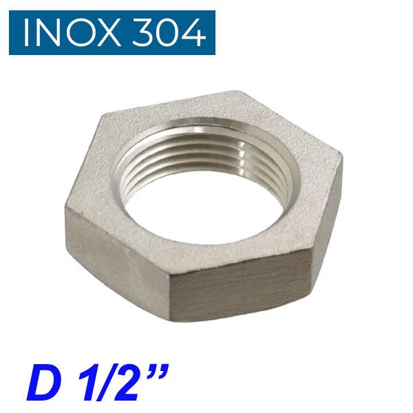 "INOX 304 Παξιμάδι 1/2"""