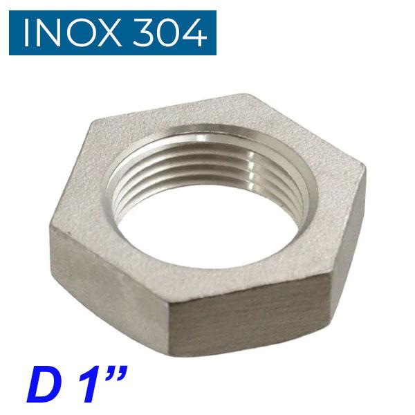 "INOX 304 Παξιμάδι 1"""