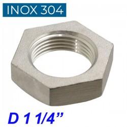 "INOX 304 Παξιμάδι 1 1/4"""