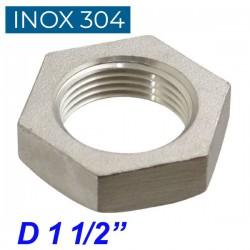 "INOX 304 Παξιμάδι 1 1/2"""