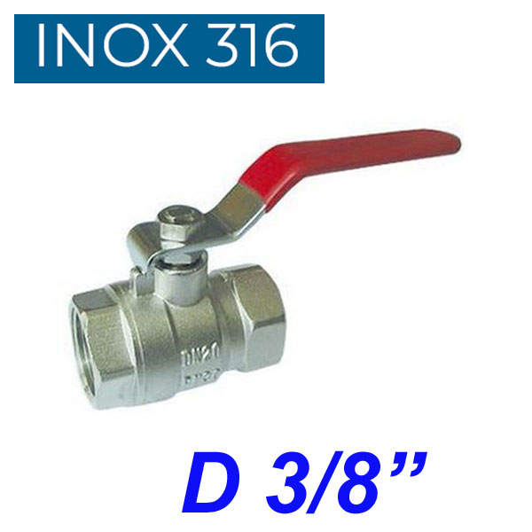 "INOX 316 Βάνα 3/8"""