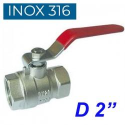 "INOX 316 Βάνα 2"""