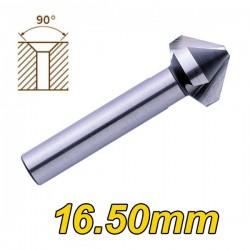 PTG 3533501650 Φρεζάκι κοβαλτίου 90 μοιρών 16,50mm