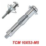 FRIULSIDER TMC 10X53-M5 Μεταλλικό βύσμα γυψοσανίδας αρθρωτά με βίδα