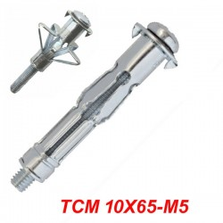 FRIULSIDER TMC 10X65-M5 Μεταλλικό βύσμα γυψοσανίδας αρθρωτό με βίδα